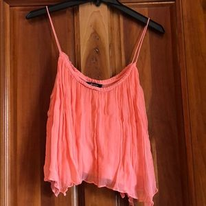 A pink camisole tank top!